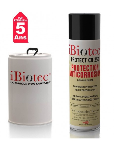 FIPCENTER-Protect CR 250 cire protection anti-corrosion longue durée IBIOTEC-PROTECT CR 250