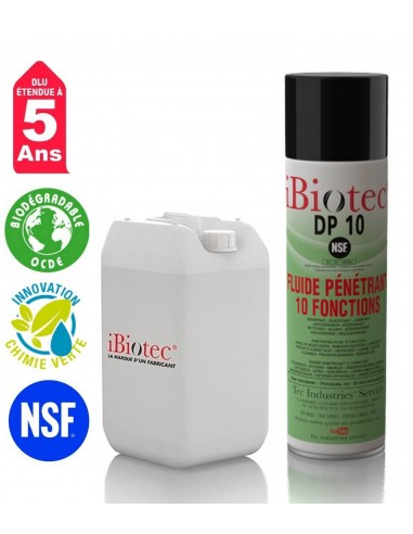 FIPCENTER-DP 10 dégrippant 10 fonctions – NSF agroalimentaire IBIOTEC-DP 10