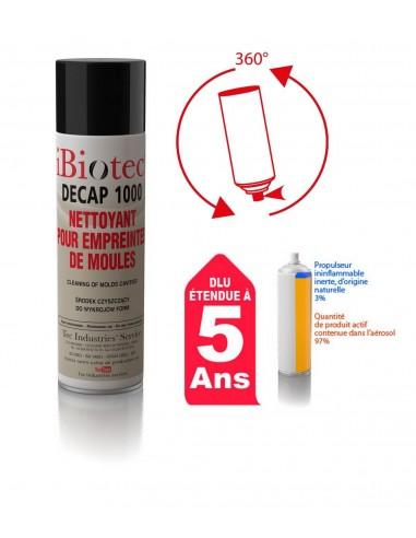 FIPCENTER-Decap 1000 aérosol nettoyant pour empreintes de moules IBIOTEC-DECAP 1000-514247