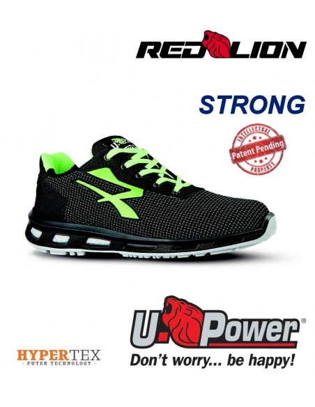 FIPCENTER-Chaussure de sécurité basse UPOWER look basket REDLION STRONG S3 SRC-RL20356