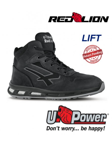 FIPCENTER-Chaussure de sécurité montante UPOWER look basket REDLION LIFT S3 SRC-RL10013