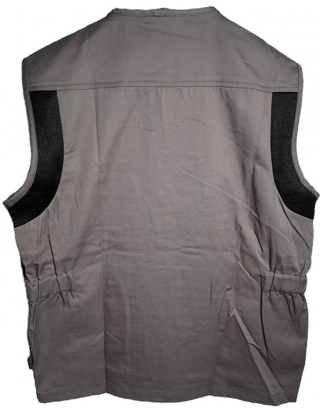 FIPCENTER-Gilet de travail sans manches respirant col V multi poches Upower FUN HY018-HY018