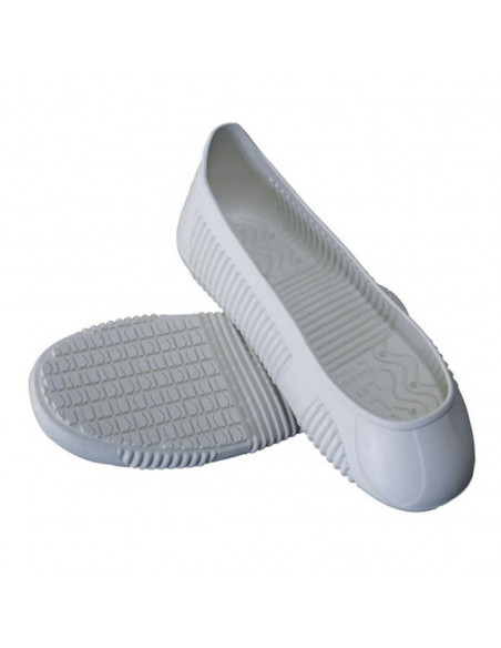 FIPCENTER-Surchaussures Blanches antidérapantes pour surface glissante EASY GRIP - Tiger Grip-EASYGRIPWHT