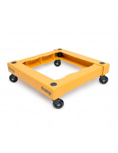 FIPCENTER-Chariot de manutention pliable 500mm X 500 mm charge 115kg - DOZOP Dolly-DOZOP-SEL-I-SLV