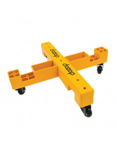 FIPCENTER-Chariot de transport modulaire pliable charge 75kg - DOZOP Dolly Modular 2-DOZOP-MOD-2